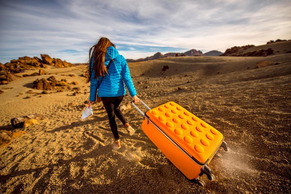 pojemna walizka